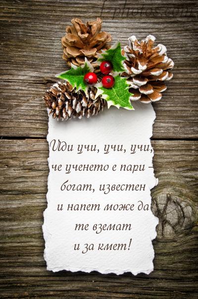 Новогодишни късметчета - Учи